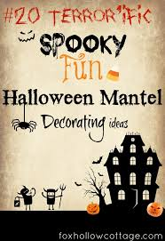 Halloween Mantel Scarf by 326 Best Halloween Mantels U0026 Fireplaces Images On Pinterest