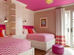 By Millbrook Circle Interior Design View In Gallery Bunk Beds And Loads Of Pink Grace This Cool Modern Girls Bedroom