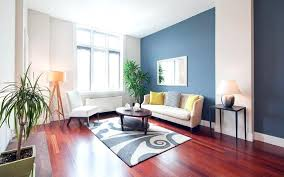Accent Wall Colors Contemporary Living Room With Two Light Gray Dark And Blue