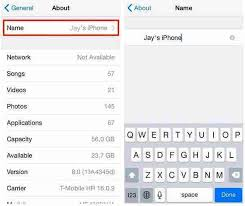 Change name in iPhone iPad and iPod touch [How to Rename]