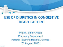 High Ceiling Diuretics Ppt by Use Of Diuretics In Congestive Heart Failure Pptx