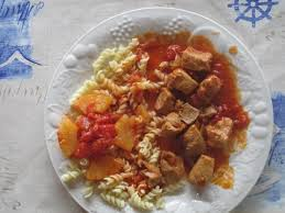 cuisiner un sauté de porc recette sauté de porc à l ananas 750g