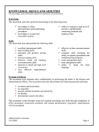 Administrative Assistant Job Description Resume 3 Templates Free Cv Template