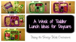 A Week Of Toddler Lunches For Daycare 10 16 17