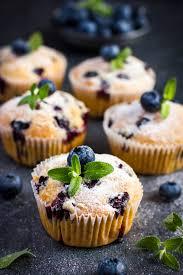 gesunde heidelbeer muffins mit skyr einfaches fitness rezept