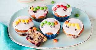 raupe nimmersatt muffins rezeptideen für den kindergeburtstag