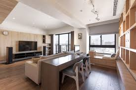 Wood Is One Of The Most Basic Materials And Can Be Used In An Endless Number Apartment InteriorModern