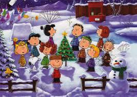 Charlie Brown Christmas Tree Home Depot by Peanuts Gang Singing Christmas Carols Snoopy U0026 Peanuts Gang