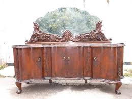 Buffet Perfect Table With Marble Top Unique Italian Sideboard Antiques Dining