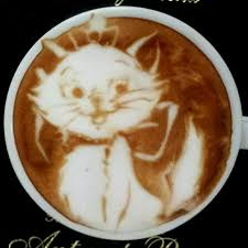 Cats In Cappuccino Latte Art Kazuki Yamamoto