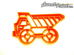 100 Dump Truck Cookie Cutter Sweet Prints Inc