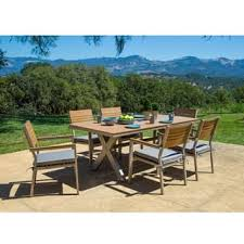 Cast Aluminum Patio Furniture With Sunbrella Cushions by Sunbrella Outdoor Dining Sets For Less Overstock Com