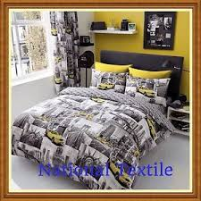 NEW YORK PATCHI Duvet Sets With Fitted Sheet Full Set