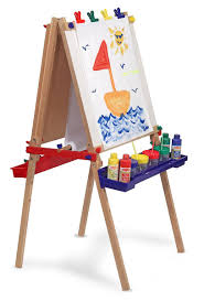 Kidkraft Easel Desk Uk by Melissa And Doug Deluxe Standing Easel Review Learning Toys