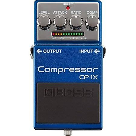 Boss CP-1X Compressor Guitar Effects Pedal