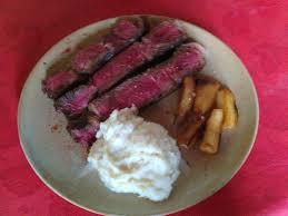 cuisiner des panais marmiton côte de bœuf panais rôtis et sa purée de topinambour recette de