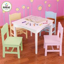 Kidkraft Heart Kids Table And Chair Set by Our Delicious Life February 2015