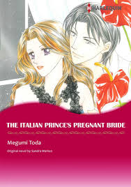 THE ITALIAN PRINCES PREGNANT BRIDE Harlequin Comics