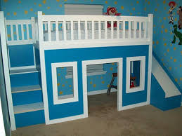 How To Build A Playhouse Loft Bed With Stairs And Slide – iSeeiDoiMake
