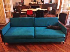 ikea karlstad sofa hack à la milo baughman made with rosewood box