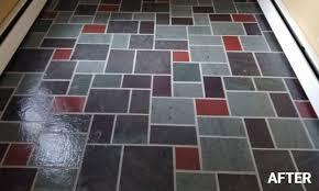 Cleaned Polished Stone Floor