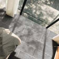 funlife 30x60cm grau marmor boden aufkleber tapete abnehmbare öl proof fliesen aufkleber für küche bad backsplash möbel