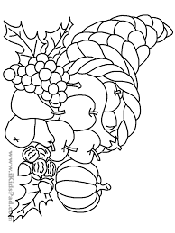 Coloring Pages Autumn Fruit Designs Canvas Fall Free Printable
