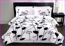 And White And Pink Bedding