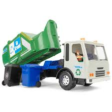 100 Rubbish Truck Tonka Titans Go Green Garbage BIG W