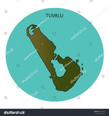 Tuvalu That Sinking Feeling by Tuvalu Operation World Tree Map Template