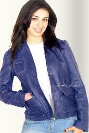 blazer leather jacket