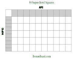 23 100 Square Football Pool Oklmindsproutco Super Bowl Squares