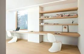 combiné bureau bibliothèque combine bureau bibliothaque bureau moderne en bois clair chaise