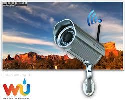 100 Wun Derground Amazoncom Ambient Weather AmbientCamHD Outdoor WiFi WeatherCam