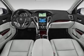2015 Acura TLX Cockpit Interior