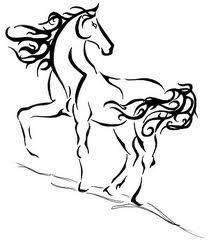 Another Possible Horse Tattoomaybe Get My Kids Names Hidden In The Mane