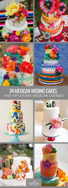 30 Exciting Colourful Mexican Wedding Cake Ideas