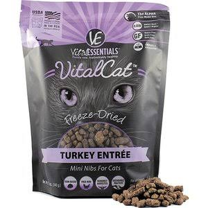 Vital Essentials Cat Freeze-Dried Mini Nibs Turkey 12oz