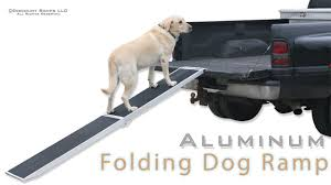 100 Dog Truck Ramp Folding Aluminum S YouTube