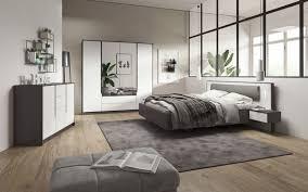 schlafzimmer komplett set a sousse 3 teilig farbe grau weiß