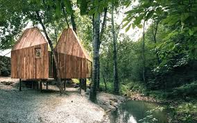 100 Tree House Studio Wood Romantic House Huts Are Tucked Away In Beijings Tranquil Mountains