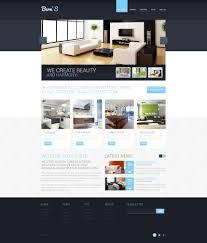 100 Interior Architecture Websites 010 Design Templates Template Ideas Responsive