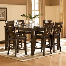 Dining Table Set Walmart by Homelegance Crown Point 7 Piece Counter Height Dining Set