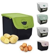 details zu kartoffelkiste kartoffelbox kartoffelbehälter zwiebel aufbewahrung box neu 12 l