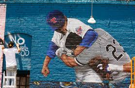 see nolan ryan s infamous awesome punch painted on deep ellum