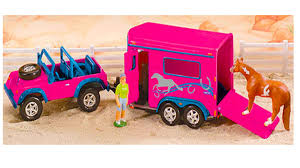 Adventure Vehicle & Two Horse Trailer - Breyer Mini Whinnies Review ... Bruder 02749 Man Tga Cattle Transportation Truck With 1 Cow New Breyer Horse And Trailer Breyer 5356 Stablemates Gooseneck In Box Traditional Two Millbry Hill Amazoncom Animal Rescue And The Best Of 2018 Pickup Fort Brands 5352 Wyldewood Tack Shop Used Red Dually Truck Trailer Sn14 North Wraxall For 19 Scale Twohorse Horze Series Dually