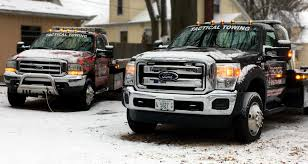 Towing-Service-Bellville-Tow-Trucks-in-Snow - Tactical Towing
