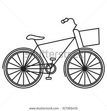 Vector Bicycle Isolated On Transparent Background