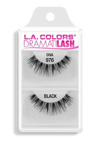 L A Colors Dramatilash Dainty False Eyelashes - Black