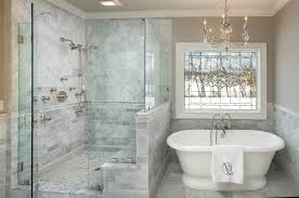 columbus shower floor options bathroom traditional with chandelier